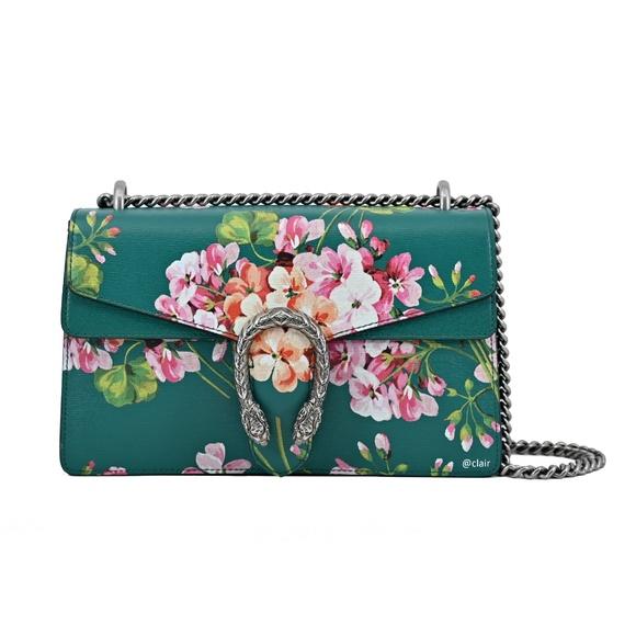 b7b8022168f0 Gucci Bags | Dionysus Blooms Print Shoulder Bag | Poshmark